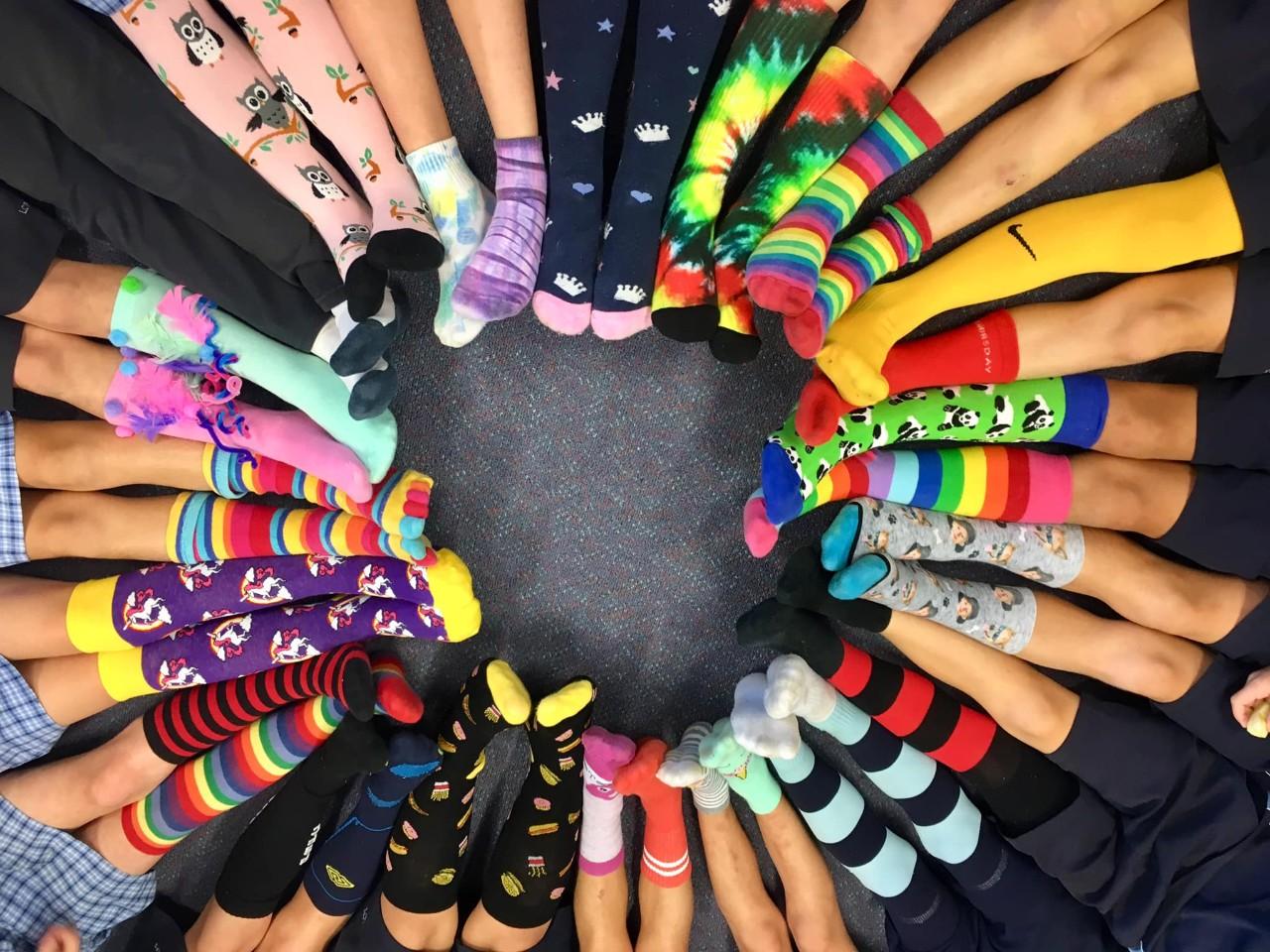 Silly Socks for Stewart House - Lake Cathie Public School